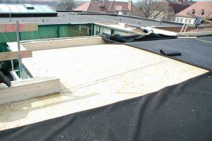 plochá strecha vo fáze realizácie